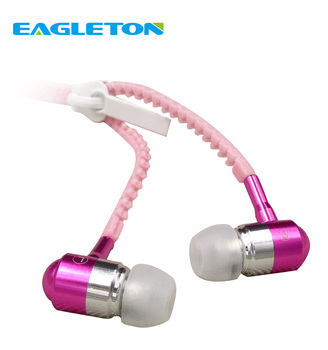2017 Best Seller Luminous Sport Voice changer handfree earphone With MIC