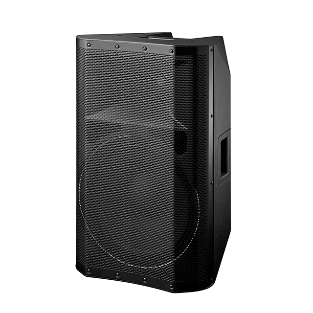 Polinata High Power 15 Inch Subwoofer 350W Built-In Sistem Dsp Portable Speaker Profesional Kotak dengan Kelas D Amplifier