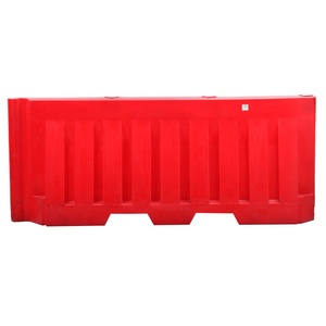 HDPE Stackable Blow Molding Plastic Road Traffic Safety New Jersey Water Filled Barriers Block
