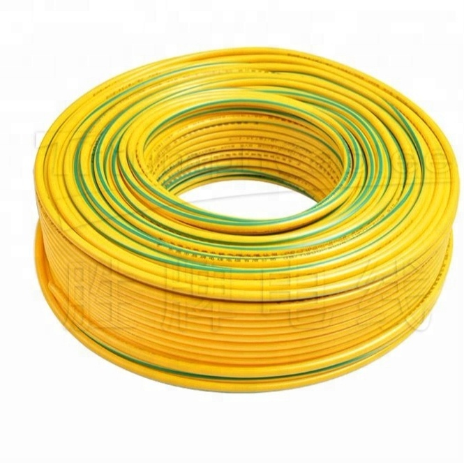0.5mm 0.75mm 1.0mm 1.5mm 2.5mm 4mm 6mm 10mm 16mm 25mm 35mm Copper Conductor PVC Insulated Single Core Flexible Cable wire