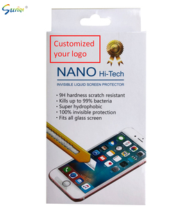 Bottom price Invisible Nano Liquid Screen Protector for XR 2ml sachet scrath resistant bacteria resistant liquid protector