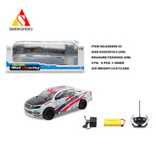 Plastic car toy rc remote control racing car toys