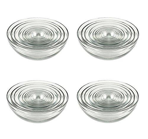 Anchor Hocking Glass Bowl Set - 10 pcs (4 Sets)