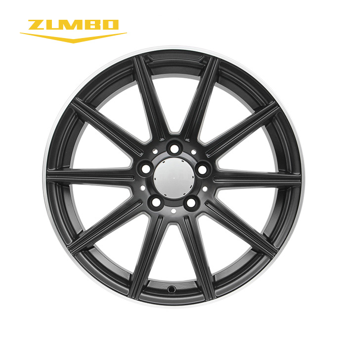 "ZUMBO F6305 Black 17"" New Product Complete Carbon Fiber For Car alloy wheel custom rims"