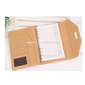 7f273918b93 Leather Ring Binder Note Book Agenda Cover Hot New Products 2016 ...
