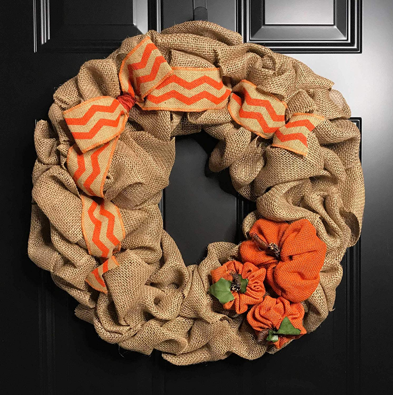 FALL WREATH-Fall Wreaths for Front Door-Thanksgiving Wreath-Pumpkin Wreath-Autumn Wreath-Fall Door Wreaths-Front Door Wreaths-Burlap Wreath