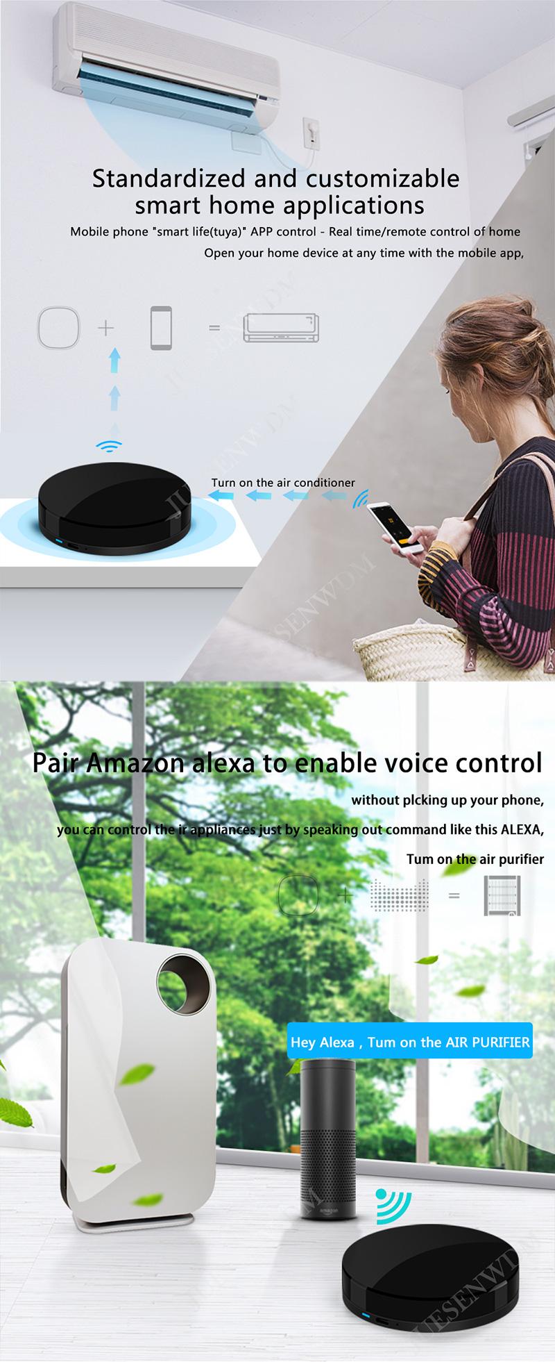 2019 Latest Universal WIFI IR Blaster Smart Home Remote Controller