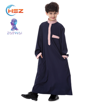 Zakiyyah TH873 fashion muslim kids abaya wholesale new arrival popular islamic clothing for children