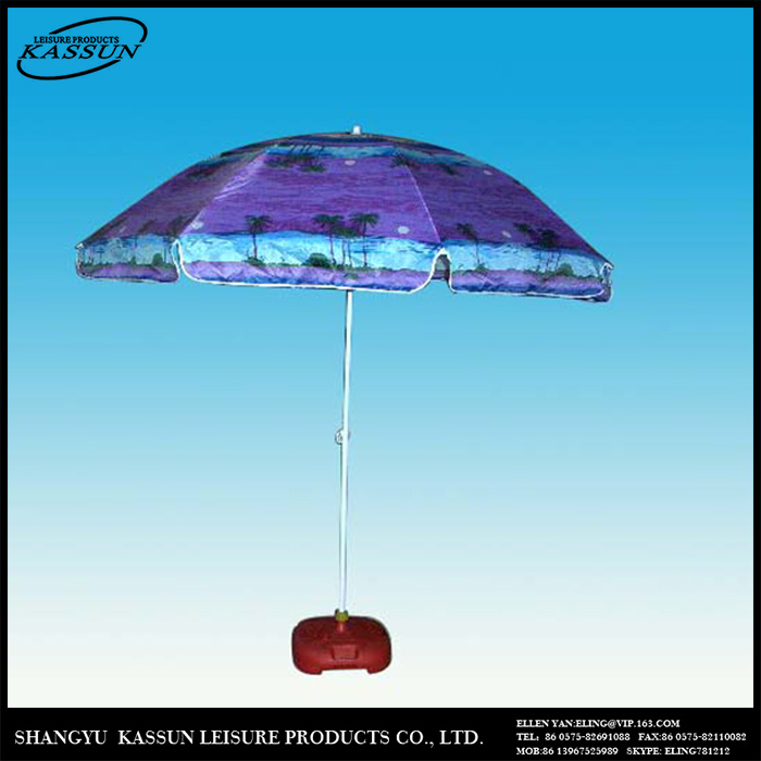 Profession made folding advertising beach umbrella size