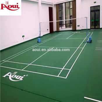 Portable Badminton Court Size Pvc Floor For Home Use Buy Badminton