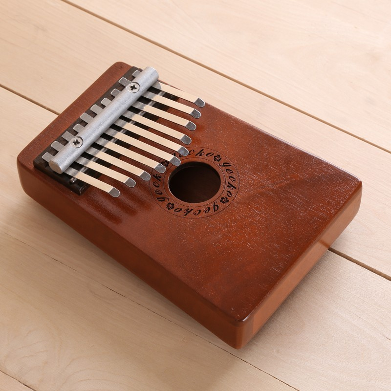 10 keys kalimba mbira likembe hollow thumb finger piano music instrument african traditional. Black Bedroom Furniture Sets. Home Design Ideas