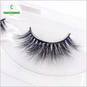 New premium 100% real fur high quality make up 3D mink volume lashes