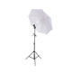 PHOTOGRAPHY STUDIO CONTINUOUS LIGHT UMBRELLA KIT + Free 27 Watts 5500K Fluorescent Photo Lamp Bulb