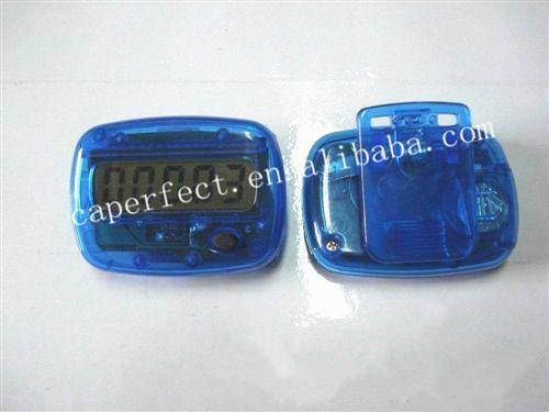 mini shaped cheap and useful pedometer with lcd screen display