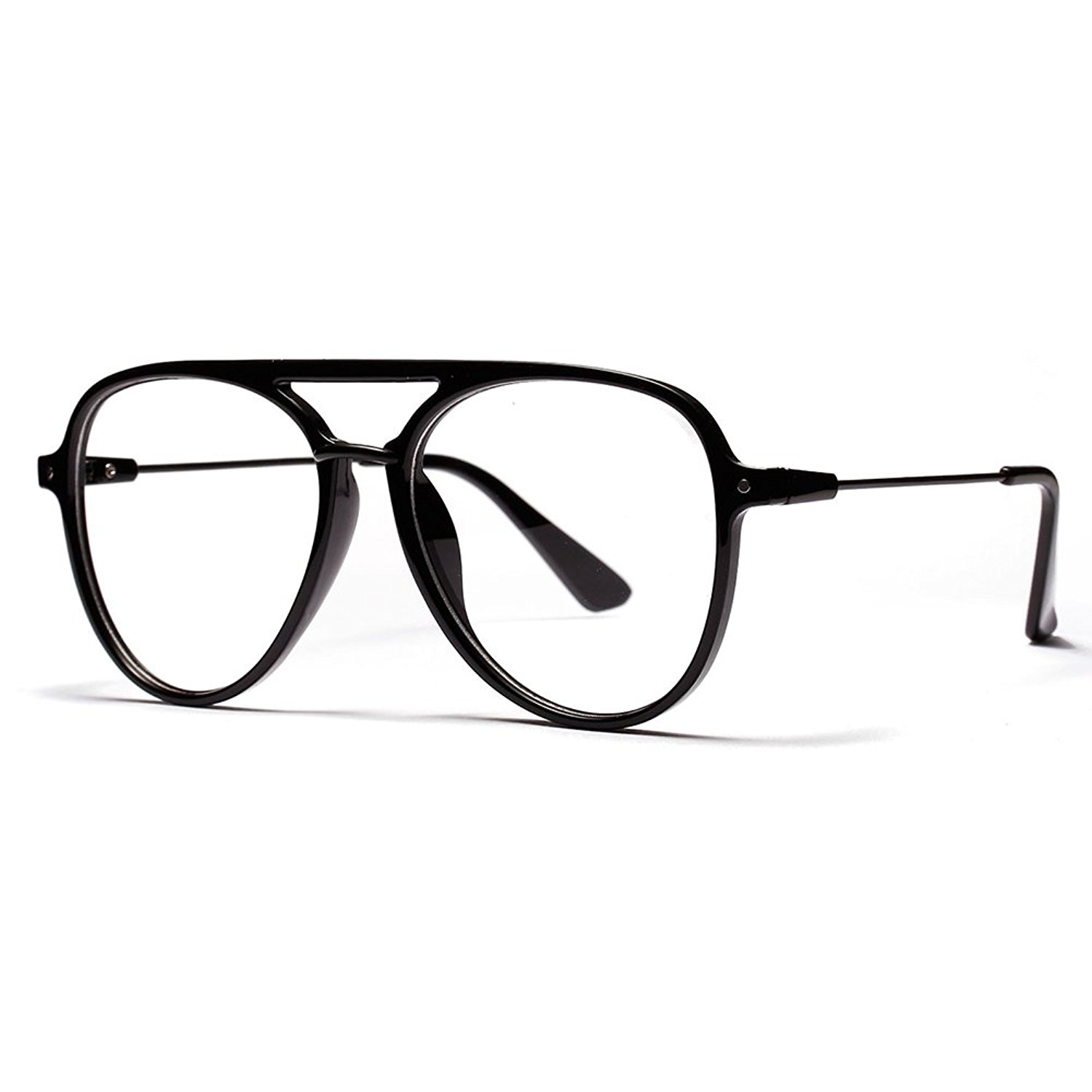 80a85692a2 Get Quotations · OVZA Fashion Big Glasses Frames Mens Transparent Eyeglasses  Frames Women Classic