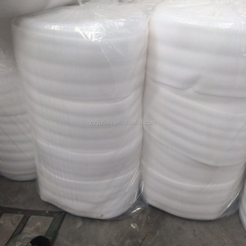 1/4 inch White EPE Foam Wrap Rolls For Packing
