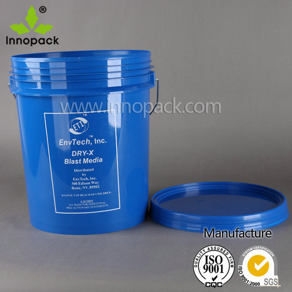 Colored 20l Plastic Pail,Container For Industrial Packaging And ...