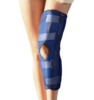8ccd858bef Brush Fabric Blue Post Op Knee Immobilizer For Recovery - Buy Post ...