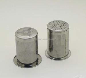 Stainless steel tea filter The Friendly Stainless Steel Single Cup Tea Infuser(factory)