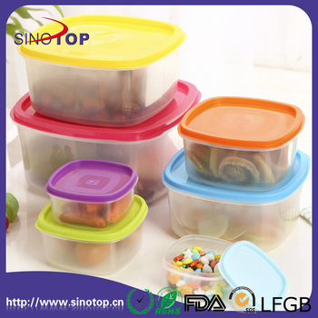 Food Storage Containers With Lids Perfect Plastic Containers 7 Piece