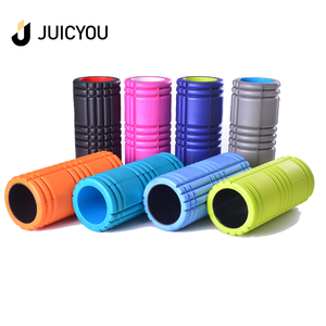 Factory hot sales eva yoga exercise foam roller 2018 new yoga travel rollers With free sample