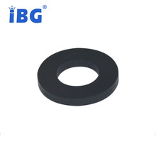 Excellent anti-chemical black round flat rubber gasket