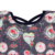Valentine's day design baby girl floral dress kid clothes new born baby's clothes fashion girls dress