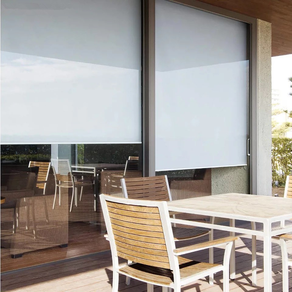 Motorized Outdoor Roller Blinds Buy Outdoor Motorized