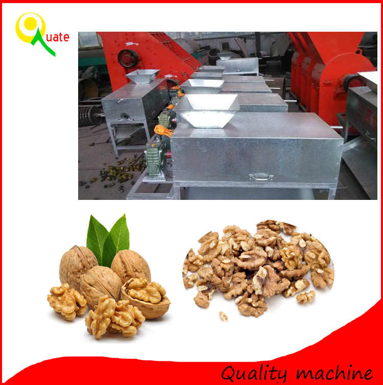 Factory price walnut sheller/small walnut shelling machine/full automatic nut cracker