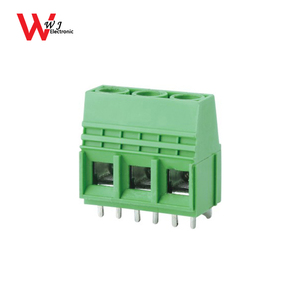 high temperature copper 116VW-10.16 screw terminal block 10.16mm for wholesale WJ116VW-10.16