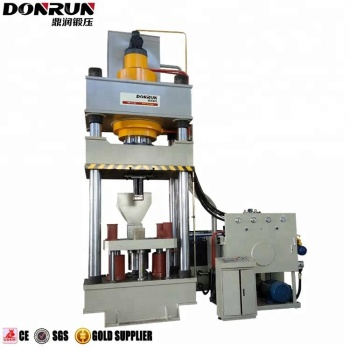 500 Ton Salt Tablet Block Forming Four Column Hydraulic Press Machine