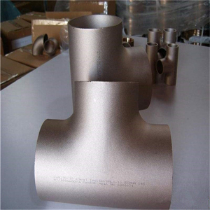 polished surface cross Standard components stainless steel vacuum pipe fittings Tee