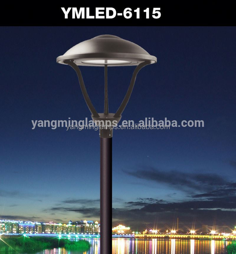 outdoor lighting pole-top led garden luminaire new contemporary design floor standing lamps park lighting