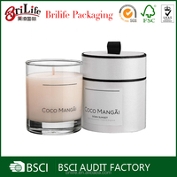 Cheap Custom Logo Printed fancy candle packaging supplies