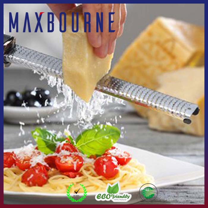Stainless Steel Blade Cheese Grater Non-Slip Handle Ginger Zester Cheese Tools