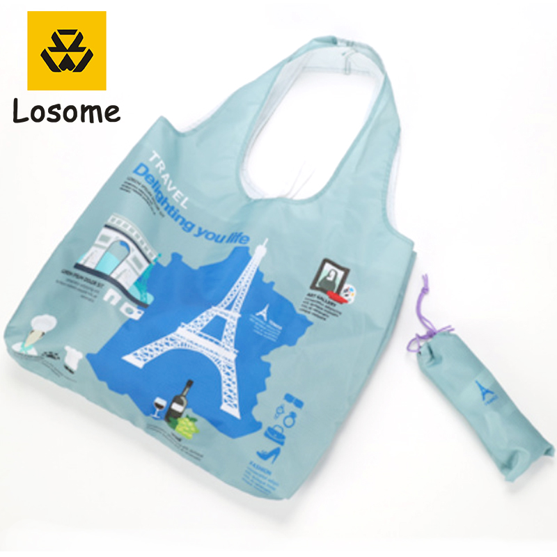 National theme Wholesale reusable <strong>eco</strong> tote shopping bag