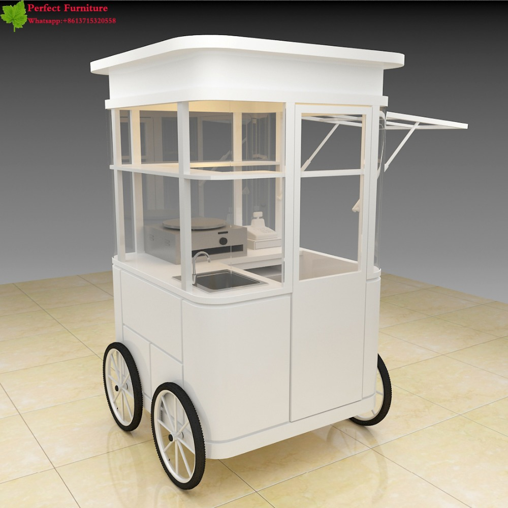 2017 Modern Mobile Coffee Cart Food Truck Trailer With Wheels
