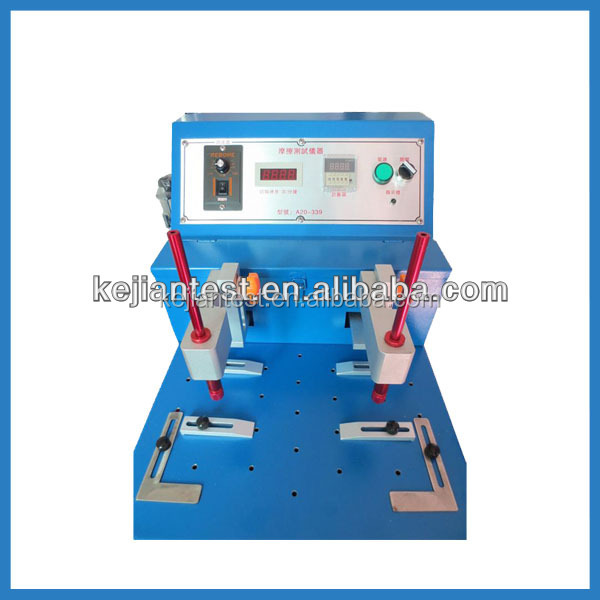 Kj-339 Linear Rubbing And Alcohol Friction Test Equipment