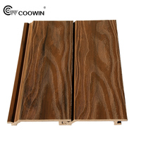 Recycled wood plastic composite wall cladding cedar siding home wall panel
