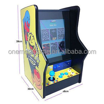 1player Vertical Screen Arcade Game Machine, Bartop Arcade Cabinet For Sale