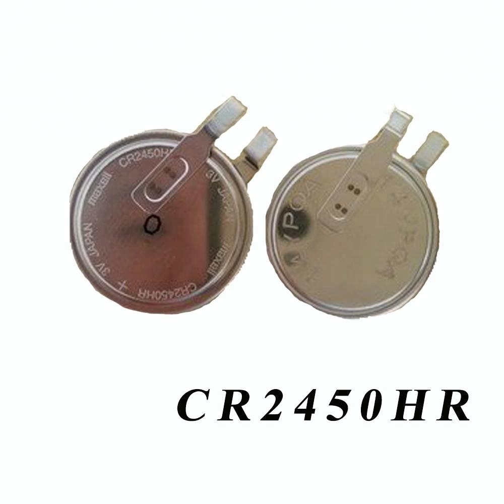 Limno2 Button Cell Battery 3v Cr2450 550mah Cr2332 Coin Lithium Batteries For Electronic Suppliers And Manufacturers At