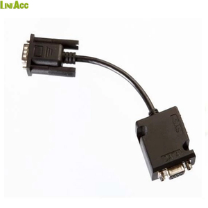 linkjc 9 pole D Sub RJ45 females in custom over mold to D-Sub cable