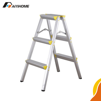 3 Foot Aluminum Stairs Aluminium Foldable Sawhorse Step Ladder