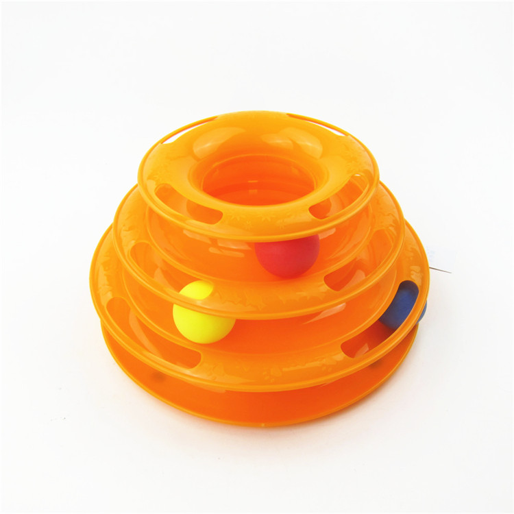 OEM fun cat game cat tower track ball,wholesale cat toys
