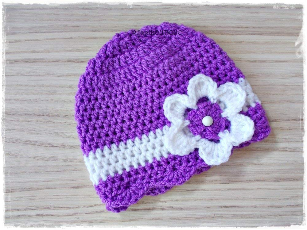 f89620066b6 Get Quotations · Crochet baby hat