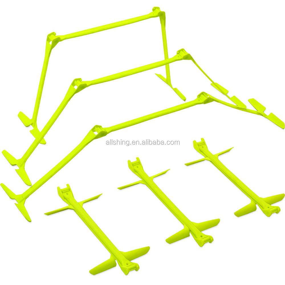 "Wholesale  Adjustable Height: 6"", 9"" + 12"" All-in-One Speed Hurdles (Set of 6) Speed Training Hurdles, Agility Hurdles"