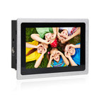 Small size 7 inch aio pc aluminum bezel industrial panel pc embedded mini pc