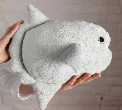 Stuffed Animals - Ocean Sunfish - Fish stuffed toy - plush toy fish - Decorative pillow toy - Beach house decor Sea nautical