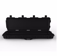 IP67 plastic shockproof Black army rifle flight case