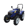 suspension pedals blue color rops 70hp 4wd tractors with hydraulic steering